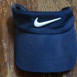 Nike visor navy blue